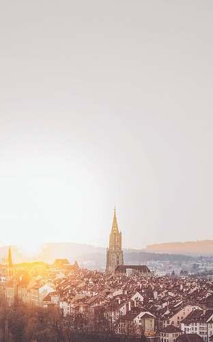 bern aerial photography of city during daytime switzerland