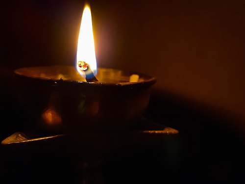 photo kalyani lighted candle west bengal free for commercial use images