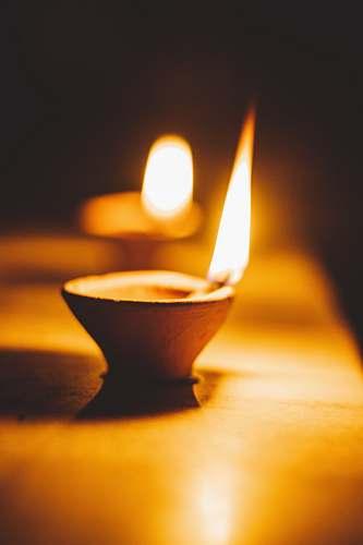 fire tealight candle photograph diwali
