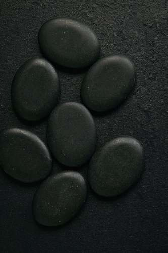 sphere seven black pebbles product