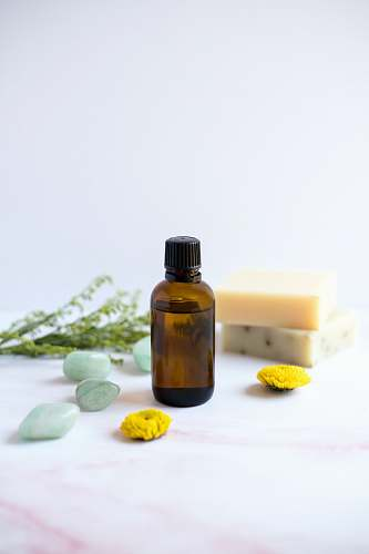 soap amber glass bottle wellbeing