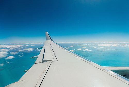 photo airliner turbulent wing free for commercial use images
