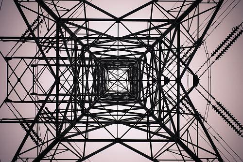 photo black electrical tower free for commercial use images