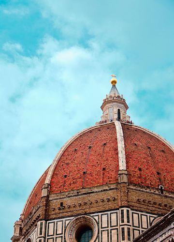 close photo of dome church