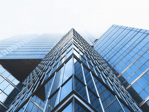 photo low angle photography curtain wall buildings free for commercial use images