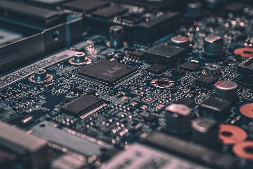photo macro photography of black circuit board free for commercial use images
