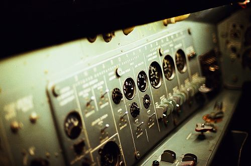photo selective focus photography of grey electronic control panel free for commercial use images