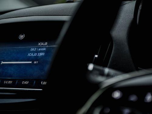 turned on vehicle monitor