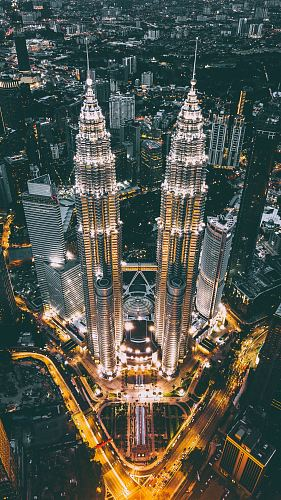photo Twin Tower, Malaysia free for commercial use images