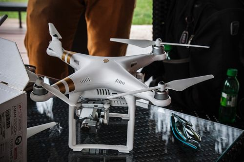 photo white DJI Phantom 3 Professional free for commercial use images