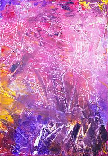 purple abstract painting pattern