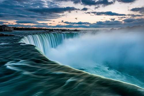 nature time lapse photography of waterfalls water