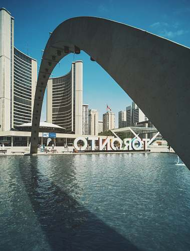 canada Toronto signage nathan phillips square