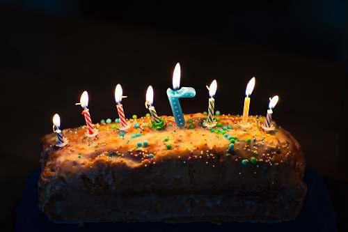 dessert rectangular birthday cake birthday cake
