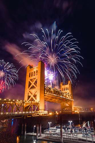 fireworks fireworks display digital wallpaper outdoors