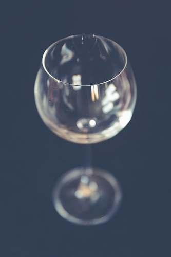 drink clear long-stemmed wine glass glass