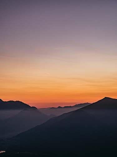 sunset aerial view of sunset sunrise