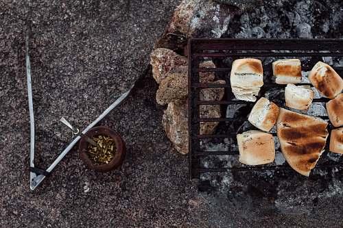 cordoba grilled bread on black grill bread