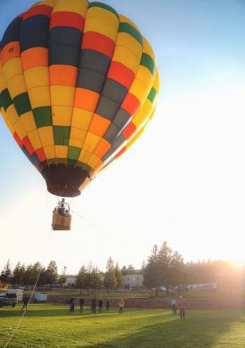 photo hot air balloon person riding hot air balloon aircraft free for commercial use images
