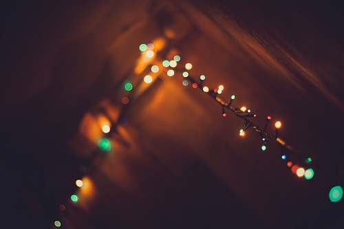 light green and yellow string lights christmas light