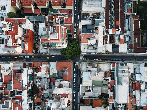 poster aerial photography of building argentina