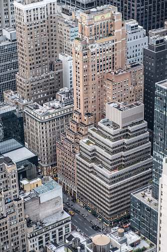 nature aerial photography of tall buildings at daytime outdoors