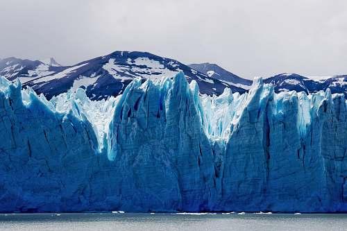 glacier landscape photo of glacier ice