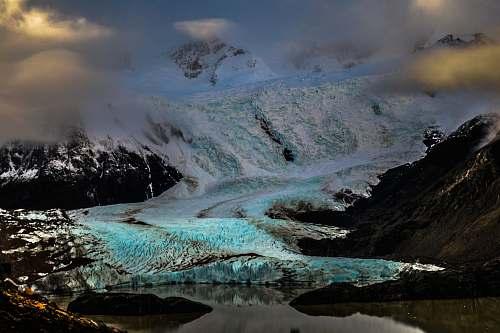 outdoors snow mountain mountain