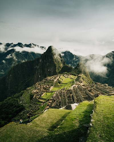 mountain Machu Picchu alps
