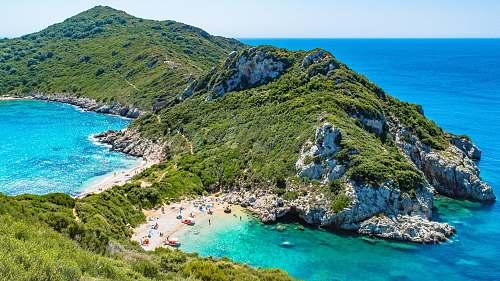 greece island photo during daytime kerkira