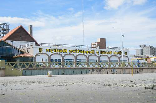 waterfront Club Social y Deportivo Madryn building during daytime dock