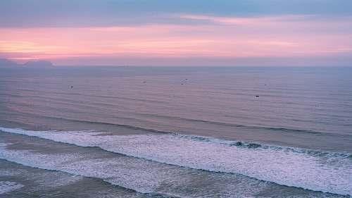 ocean water waves photo sea