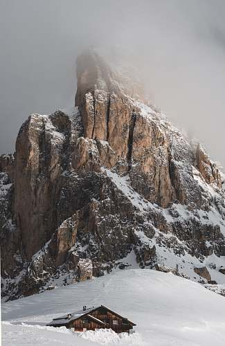 nature photo of snow covered mountain mountain