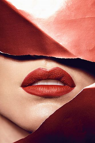 free for commercial use woman wearing red lipstick images