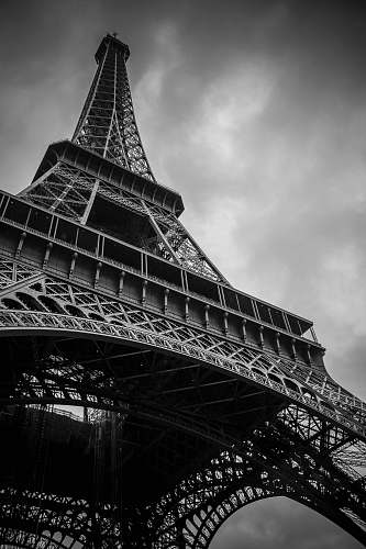 tower Eiffel Tower, Paris, France grayscale photography black-and-white
