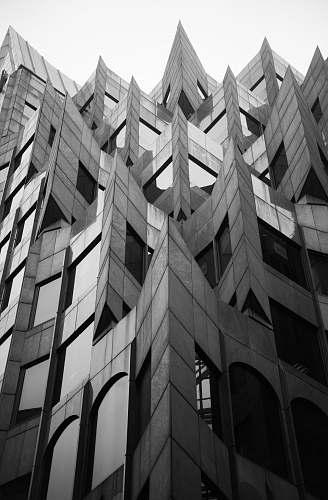 architecture grayscale photo of concrete structure black-and-white