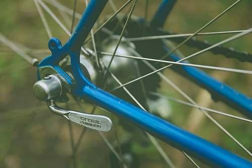 bike blue bicycle cycling