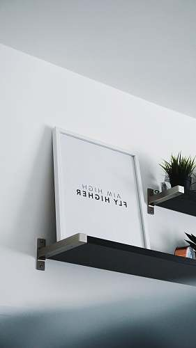 quote aim high fly higher photo frame interior