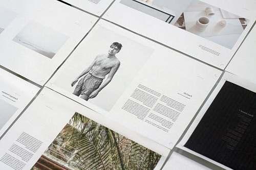 publishing man's photo-printed paper magazine