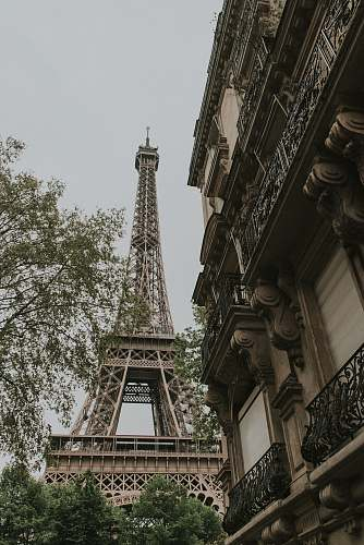 france low-angle photography of Eiffel Tower, Paris architecture