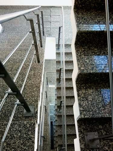 handrail gray railing railing