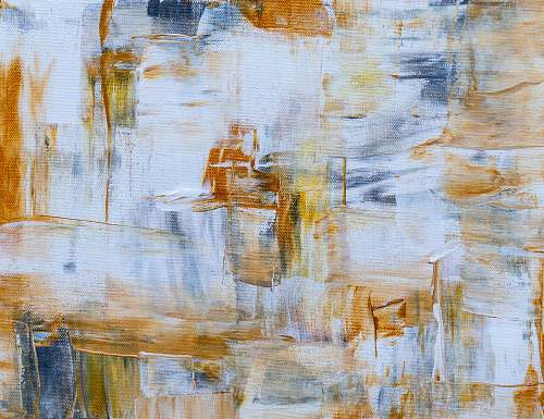 photo modern art blue and yellow abstract painting painting free for commercial use images