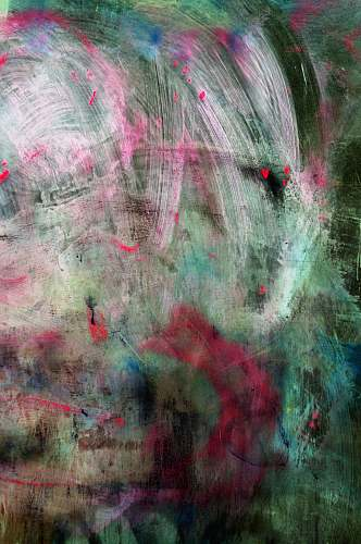 photo texture green, pink, and white abstract painting with brush strokes abstract free for commercial use images