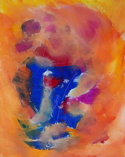 photo modern art multicolored abstract painting canvas free for commercial use images