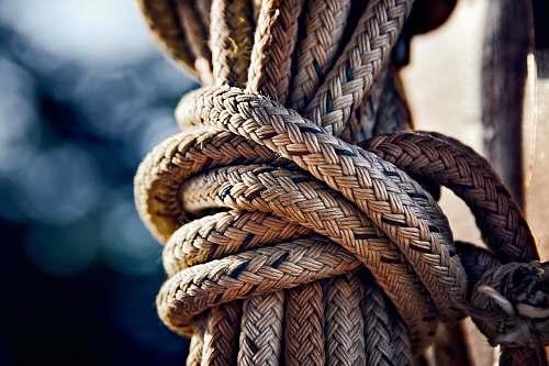 annapolis closeup photo of brown rope nautical