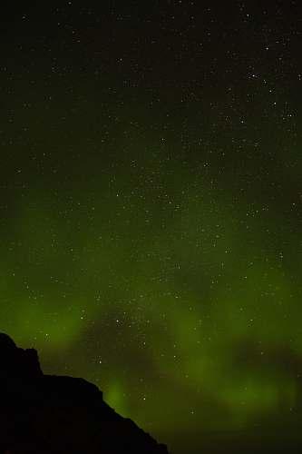 nature Aurora borealis on the sky outdoors