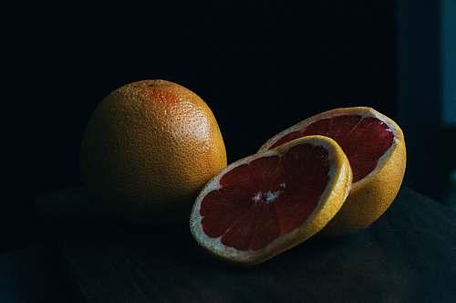 fruit sliced yellow lime food