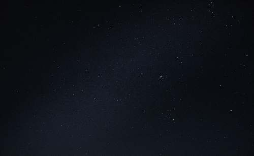 nature starry sky at nighttime outdoors