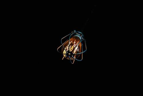 bulb lighted light bulb edison