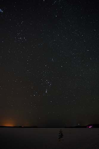 outdoors star in the vast sky at night black